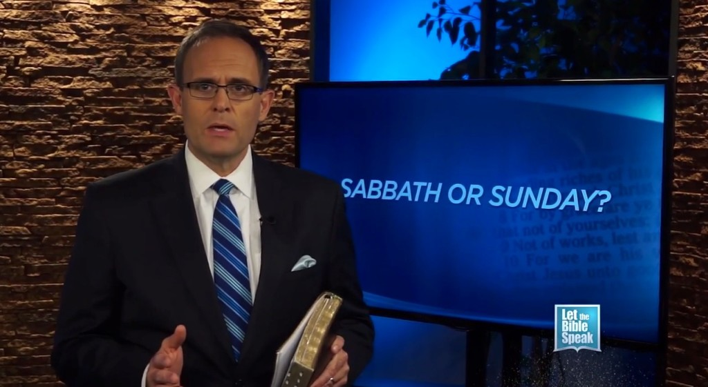 Sabbath or Sunday? Part 2 - LET THE BIBLE SPEAK TV with Kevin Presley