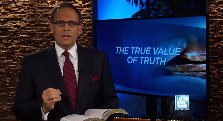 The True Value Of Truth (The Text) - LET THE BIBLE SPEAK TV with Kevin Presley