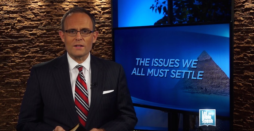 The Issues We All Must Settle (The Text) - LET THE BIBLE SPEAK TV with Kevin Presley