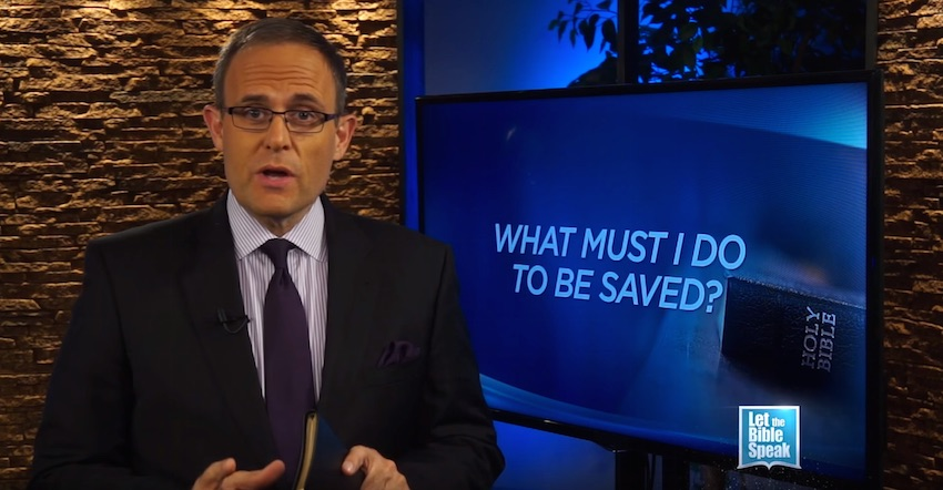 What Must I Do To Be Saved? (The Text) - LET THE BIBLE SPEAK TV with Kevin Presley