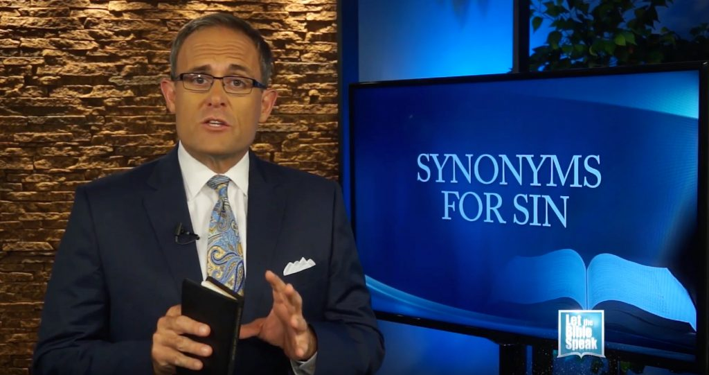Synonyms For Sin - Part 1 (The Text) - LET THE BIBLE SPEAK TV with Kevin Presley