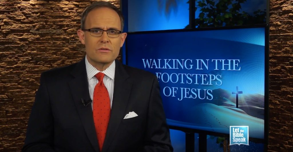 Walking In The Footsteps Of Jesus (The Text) - LET THE BIBLE SPEAK TV with Kevin Presley